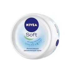 Интенсивный увлажняющий крем NIVEA (Нивея) Soft для лица, рук и тела, (100 мл)