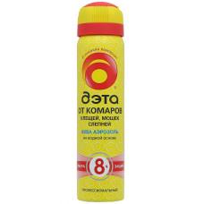 Аэрозоль ДЭТА защита от комаров, клещей, мошек и слепней 8 часов, 75 мл