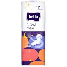 Гигиенические прокладки Bella Nova Maxi (Белла Нова Макси) 5 капель, 10 шт