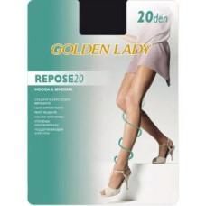 Колготки Golden Lady Repose (Голден Леди) Daino (цвет загара) 20 den, 2 размер