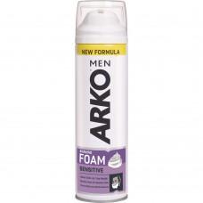 Пена для бритья ARKO Sensitive (Арко для чувствительной кожи), 200 мл