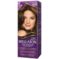 Краска для волос Wellaton (Вэллатон) 6/73 Молочный шоколад