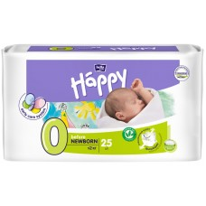 Подгузники Happy (Хэппи) Before Newborn 0 (до 2 кг), 25 шт