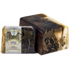 Косметическое мыло ручной работы Savon D Lion Кофе с корицей, 100 г