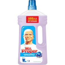 Моющая жидкость для полов и стен Mr. Proper (Мистер Пропер) Лавандовое спокойствие, 1 л