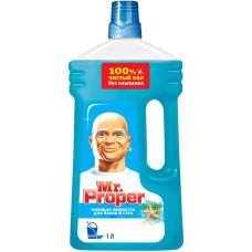 Моющая жидкость для полов и стен Mr. Proper (Мистер Пропер) Океан, 1 л