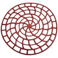 Решетка в раковину круглая, цвета микс, d-31 см