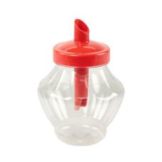 Сахарница пластиковая с дозатором Сластёна, д10 см, h14,5 см, 3 л