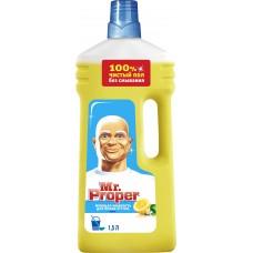 Моющая жидкость для полов и стен Mr. Proper (Мистер Пропер) Лимон, 1,5 л