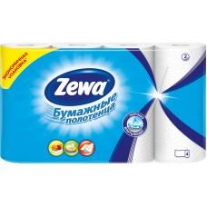 Бумажные полотенца Zewa (Зева) 2-х слойные 4 шт/уп