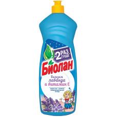 Бальзам для мытья посуды Биолан Лаванда и Витамин Е, 1 л