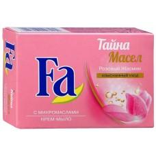 Крем-мыло Fa (Фа) Тайна масел Розовый жасмин, 90 г