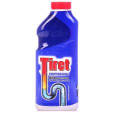 Гель для устранение и профилактики засоров Tiret (Тирет) Профессионал, синий, 500 мл