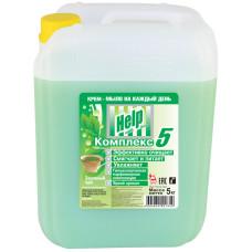 Жидкое крем-мыло Help (Хелп) Зеленый чай, 5 л