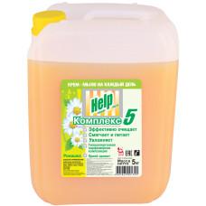 Жидкое крем-мыло Help (Хэлп) Ромашка, 5 л
