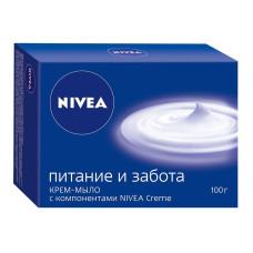 Крем-мыло Nivea (Нивея) Питание и забота, 100 г