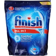 Таблетки для посудомоечных машин Calgonit Finish (Калгонит Финиш), 65 шт
