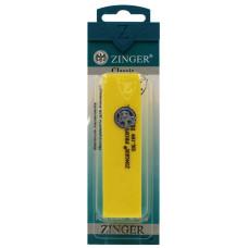 Бафик шлифующий для ногтей Zinger (Зингер), цвет жёлтый, EK-109-150