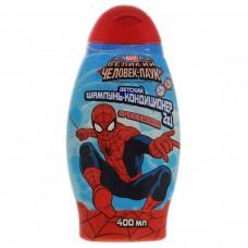 Детский шампунь с кондиционером Spider-Man (Спайдер-мен) Spidermania (Спайдермания), 400 мл