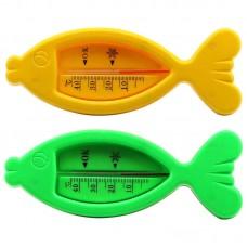 Термометр для ванной Рыбка, +40-0С 15,5х6 см в блистере, 2 цвета