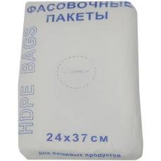 Пакет пищевой фасовочный Эконом 1000 шт в рулоне, 24х37 см, 8 мкм