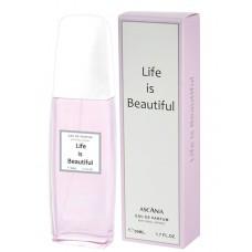 Женская парфюмерная вода Ascania (Аскания) Life is Beautiful, 50 мл