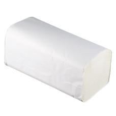 Листовые полотенца Teres (Терес) Стандарт Т-0225 V-сложения, 1-х слойные, 23х21 см, 250 листов