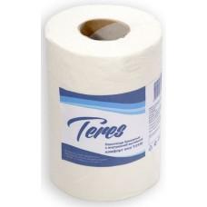 Полотенца бумажные с внутренней вытяжкой Терес Комфорт mini 1-слойные, 120 м