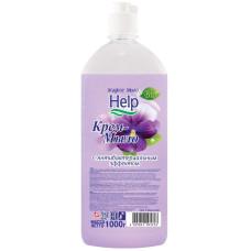 Жидкое крем-мыло Help (Хелп) с Антибактериальным эффектом, 1 л
