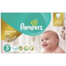Подгузники Pampers (Памперс) Premium Care Midi 3 (5-9 кг), 120 шт