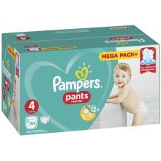 Подгузники-трусики Pampers (Памперс) Pants Boy & Girl Maxi 4 (9-15 кг), 104 шт