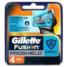 Кассеты для бритья Gillette Fusion ProShield (Джилет Фьюжен ПроШилд), 4 шт