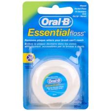 Зубная нить Oral-B (Орал-Би) Essential Floss, 50 м