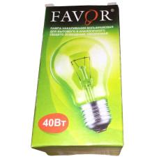 Лампа накаливания Импульс Фаворит, мощность - 40 W, цоколь - 27 Е