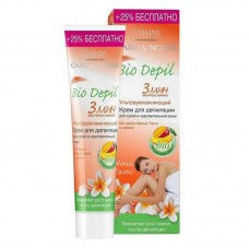 Крем для депиляции ультраувлажняющий Eveline (Эвелин) Bio depil. 3 минуты, для сухой и чувствительной кожи, 125 мл