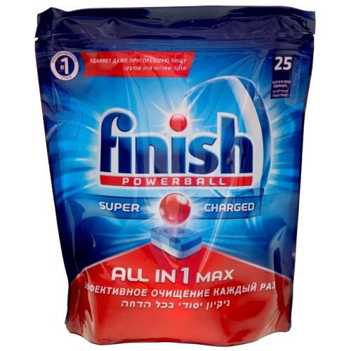 Таблетки для посудомоечных машин Calgonit Finish (25 шт)