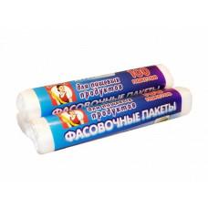 Пакет пищевой фасовочный в рулоне Экономка, 17х28 см, 100 шт