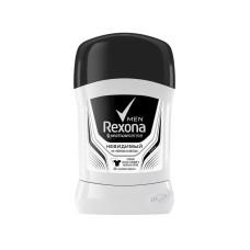 Дезодорант-антиперспирант стик мужской Rexona (Рексона) Невидимый на черном и белом, 50 мл