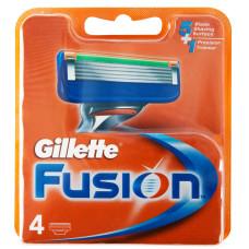 Кассеты для бритья Gillette Fusion (4 шт)