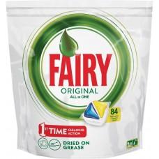 Капсулы для посудомоечных машин Fairy (Фейри) Original All in One, 84 шт