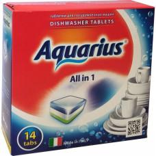 Таблетки для посудомоечных машин Lotta (Лотта) Aquarius, 14 шт