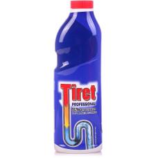 Гель для чистки труб Tiret (Тирет) Профессионал синий, 1 л