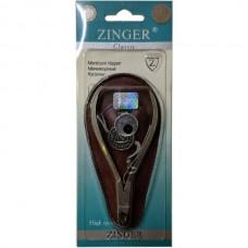 Кусачки маникюрные Zinger (Зингер) для кожи матовые, ZO MC-459-D-SH-K2