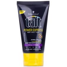 Гель для укладки волос Taft (Тафт) Экспресс-укладка, Мегафиксация №5, 150 мл