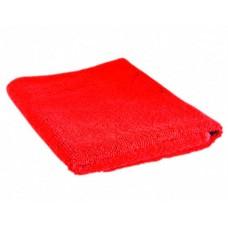 Салфетка из микрофибры (без упаковки) Красная, 70х80 см
