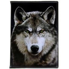 Обложка для паспорта Волк