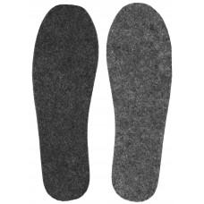Стельки для обуви войлочные, тонкие, размер 45, 2 шт