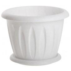 Горшок пластиковый Оливия для растений, 3.6 л