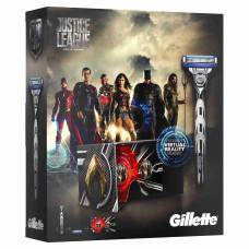Подарочный набор Gillette Mach3 Turbo (станок + 3 сменные кассеты + очки виртуальной реальности)