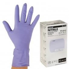 Перчатки нитриловые одноразовые (неопудренные), размер XL, 50 пар/100 шт